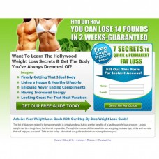 Template: Weight Loss Squeeze Page