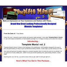 Templates Website: Template Mania! vol. 2