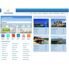 Affiliate Website: Travel Search Engine