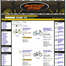 Amazon Website: Bike Store