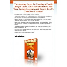 Ebook Website: Household Budget