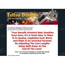 Ebook Website: Tattoo Designs