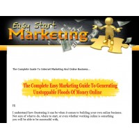 Ebook Website: Easy Start Marketing
