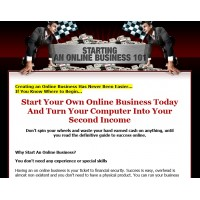 Ebook Website: Starting An Online Business 101