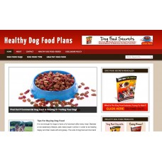 WP Niche Blog: Dog Food