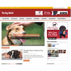 WP Niche Blog: Dog World
