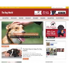 WP Niche Blog: Dog World